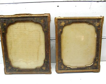 Antique Picture Frame Set - Victorian Picture Frames - Vintage Picture Frames - Antique Frames - Review All Images - Shabby Frames