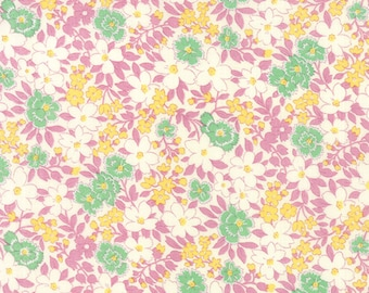 Sweet Lilac Floral 30' Playtime Moda Quilt Fabric by the 1/2 yard