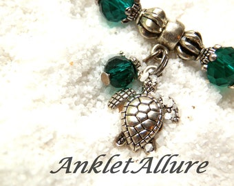 Ankle Bracelet Turtle Anklets for Women Green Beach Ankle Bracelet GUARANTEED