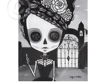 Isabel The Gate Keeper  8x10 print by Lupe Flores