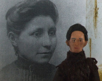 Susan La Flesche Picotte Doll Miniature Native American Indian Medical Doctor