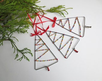 Bicycle Spoke Christmas Tree Ornament , Bike Accessories
