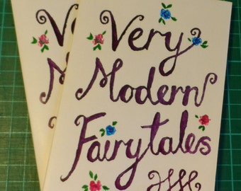Very Modern Fairytales A6 Colour Zine