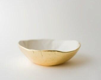 Gold Bottom Dish
