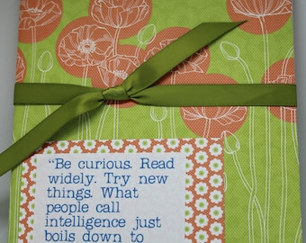 QUOTEBOOK - notebook for readers - fill in with your favorite quotes!