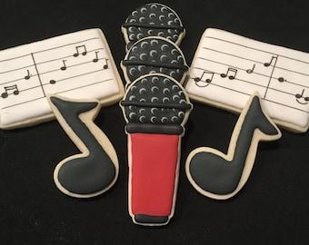 Musical Themed Sugar Cookies