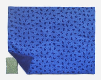 X Large Catnip Mat plus Catnip Cats and Paws Refillable Reversible