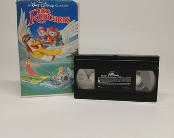 VHS Tape The Rescuers Movie