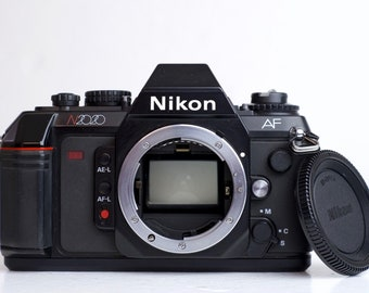 Nikon N2020 35mm Film SLR Camera with Body Cap