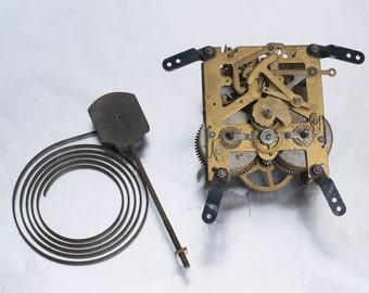 English Clock Parts Steampunk Supply Vintage Clockworks
