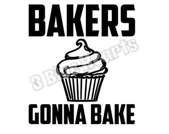 Bakers Gonna Bake SVG dxf Studio, Cutting Board SVG dxf Studio, Cooking svg dxf studio, kitchen svg dxf studio