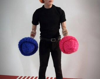 Hat for dolls 1/6, 30cm