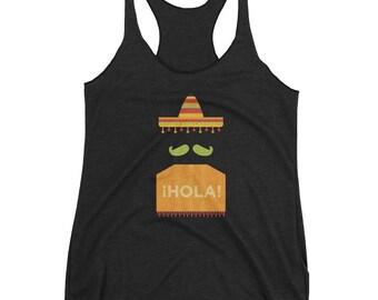 Mexican tank-top,  Mexico tank-top, sombrero tank-top, mariachi tank-top