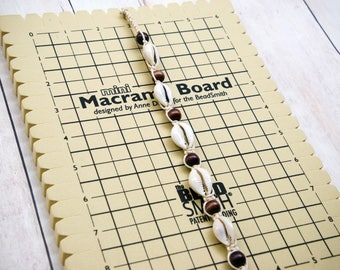 Macrame Board, 7.5 x 10.5 Inches, Mini Macrame Board, Jewelry Board, Knotting Board