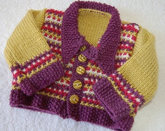 Funky Patterned Cardigan