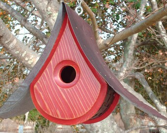 OUTDOOR Birdhouses | BIRDHOUSES with a View | Handmade Birdhouses