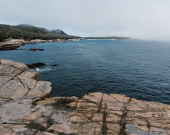 Acadia National Park - Mount Desert Island - Sand Beach