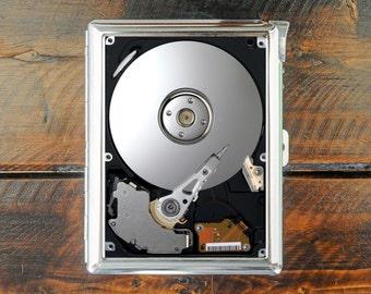 cigarette case HDD hard disk drive computer part wallet card money holder cigarettes box