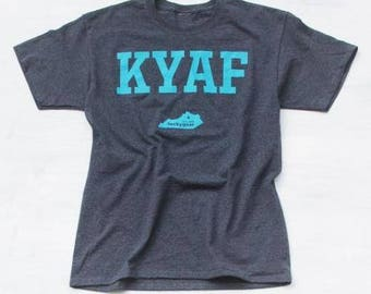 KYAF - Kentucky As F*** T-Shirt by tuckygear