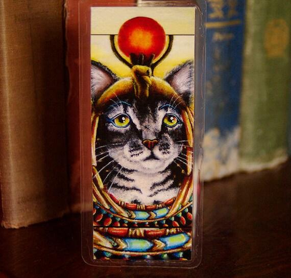 Cleopatra Egyptian Cat Pharaoh Bookmark