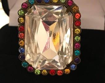 GORGEOUS Sorrelli multicolor ring!