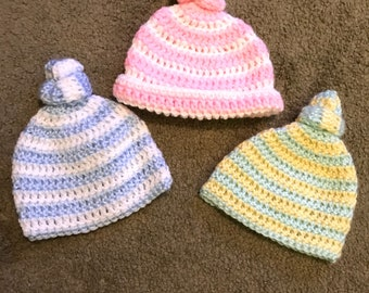 Baby Knot Hat Crochet