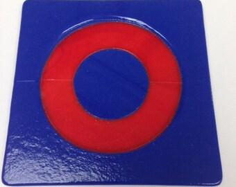 Phish Fused Glass Coasters (set of 4)