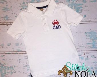 Crab Collared Shirt