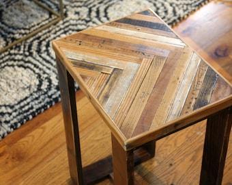 Herringbone Coffee Table Reclaimed Wood Coffee Table - Reclaimed wood coffee table chicago