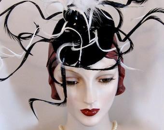 ON SALE/ Catalpa Pod Wearable Art Headpiece