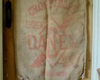 Vintage American Flour Sack - Danex