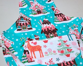 Toddler Holiday Christmas Apron