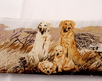 GOLDEN RETRIEVERS & Puppies   glasses cases