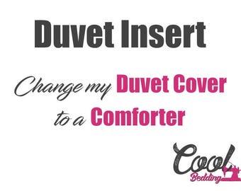 Duvet Insert, Softened Comforter Set, Doona, Quilt Set, Single, Twin, Full, Queen, King Comforter Set