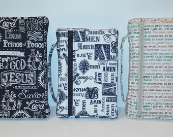 Zippered Bible Cover SEWING PATTERN