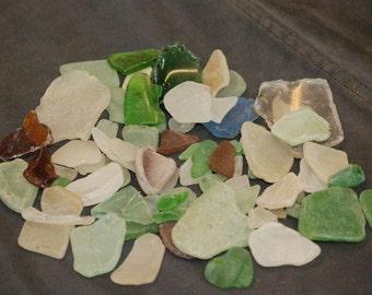 Sea Glass, Genuine, 60 pieces, Group 1