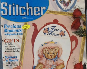 The Cross Stitcher August 1998 Magazine Volume 15 Number 3