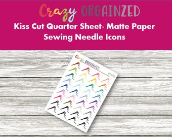 Sewing Needle Icon Stickers