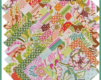 "Heather Bailey FRESHCUT 5"" Fabric Quilting Squares Free Spirit"
