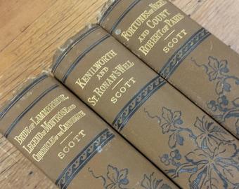 Sir Walter Scott The Waverley Novels DeWolfe Fiske & Co.