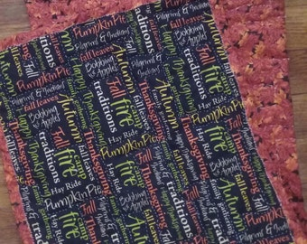Fall Table Runner, Quilted Table Runner, Fall Home Decor, Home Accents