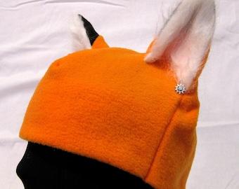 Fox Ear Hat - FURRY Ears - MULTIPLE COLORS
