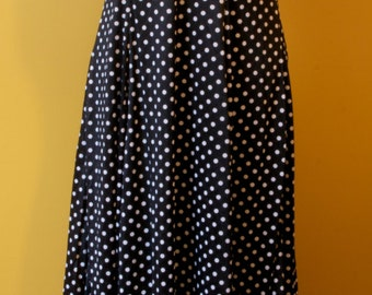 Vintage Sleeveless Polka Dot Floor Length Maxi Dress with Matching Sleeved Cover Jacket