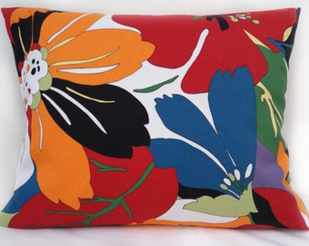 Large Flowers Cushion