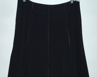 Sale: Express Black Gored skirt, Size 7/8