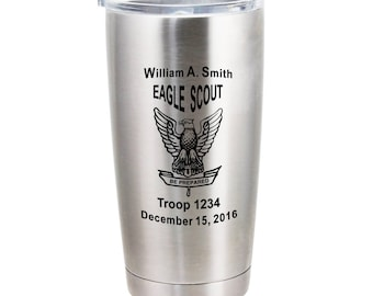 Eagle Scout 20 oz Stainless Steel Vacuum Insulated Tumbler