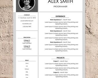 Modern Resume Template   Creative Resume Template   CV Template   Cover Letter Templates   Word Resume Template   Resume Design Download
