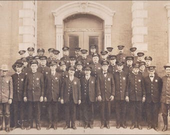 Poster, Many Sizes Available; Houston Police Department 1920 Taken Nov 6