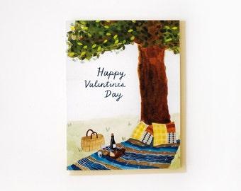 Valentine's Picnic Card
