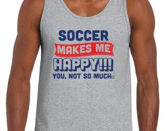 Soccer Fan Tank Top Soccer Sports Tank Top Gift For Him Gift For Dad Tank Top sports fan gift soccer team gift soccer coach gift clothes